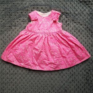 Pretty Pink Party Dress 6 Month Baby Girl